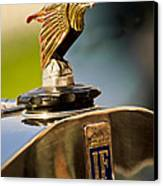 1925 Isotta Fraschini Tipo 8a S Corsica Boattail Speedster Hood Ornament Canvas Print by Jill Reger