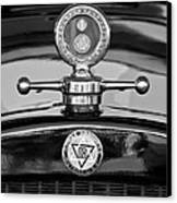1928 Dodge Brothers Hood Ornament - Moto Meter Canvas Print by Jill Reger