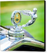 1931 Ford Model A Deluxe Fordor Hood Ornament Canvas Print by Sebastian Musial