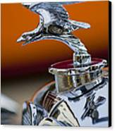 1932 Alvis Hood Ornament 2 Canvas Print by Jill Reger