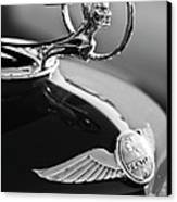 1933 Pontiac Hood Ornament 4 Canvas Print by Jill Reger