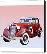1935 Auburn 8 Phaeton 851 Canvas Print by Jack Pumphrey