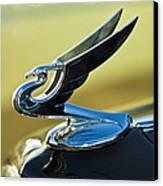 1935 Chevrolet Sedan Hood Ornament 2 Canvas Print by Jill Reger