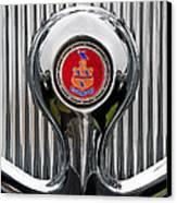 1935 Pierce-arrow 845 Coupe Emblem Canvas Print by Jill Reger