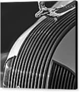 1935 Pontiac Sedan Hood Ornament 3 Canvas Print by Jill Reger
