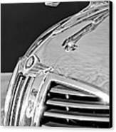 1938 Dodge Ram Hood Ornament 4 Canvas Print by Jill Reger