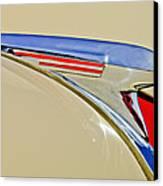 1940 Chevrolet Pickup Hood Ornament 2 Canvas Print by Jill Reger
