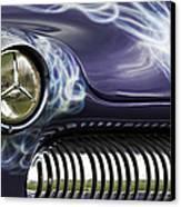 1949 Mercury Eight Hot Rod Canvas Print by Tim Gainey