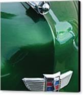 1949 Studebaker Champion Hood Ornament Canvas Print by Jill Reger
