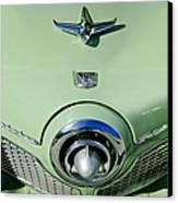 1951 Studebaker Commander Hood Ornament 2 Canvas Print by Jill Reger