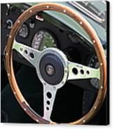 1952 Jaguar Xk120 Roadster 5d22971 Canvas Print by Wingsdomain Art and Photography