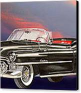 1953  Cadillac El Dorardo Convertible Canvas Print by Jack Pumphrey