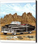 1953 Cadillac Eldorado Biarritz Canvas Print by Jack Pumphrey