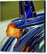 1953 Pontiac Hood Ornament 3 Canvas Print by Jill Reger