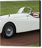 1954 Jaguar Xk120 Roadster  Canvas Print by Jill Reger