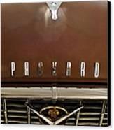 1955 Packard 400 Hood Ornament Canvas Print by Jill Reger