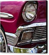 1956 Chevy Bel Air Canvas Print by David Patterson