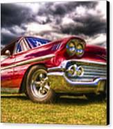 1958 Chevrolet Impala Canvas Print by Phil 'motography' Clark