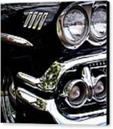 1958 Chevy Bel Air Canvas Print by David Patterson