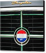 1960 Chrysler 300f Convertible Grille Emblem Canvas Print by Jill Reger