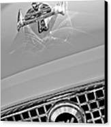 1960 Nash Metropolitan Hood Ornament Canvas Print by Jill Reger
