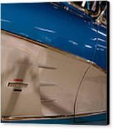 1961 Chevrolet Corvette V Canvas Print by David Patterson