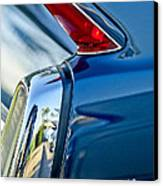 1962 Cadillac Deville Taillight Canvas Print by Jill Reger