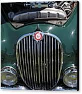 1962 Jaguar Mark II 5d23327 Canvas Print by Wingsdomain Art and Photography