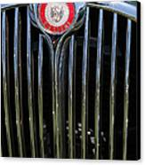 1962 Jaguar Mark II 5d23329 Canvas Print by Wingsdomain Art and Photography