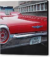 1963 Ford Thunderbird Canvas Print by Paul Kuras