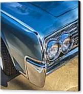 1964 Lincoln Continental Convertible  Canvas Print by Rich Franco
