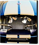 1965 Shelby Cobra Grille Canvas Print by Jill Reger