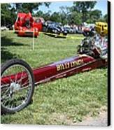 1967 Billy Lynch's Top Fuel Dragster Canvas Print by John Telfer