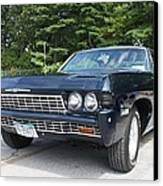 1968 Chevrolet Impala Sedan Canvas Print by John Telfer