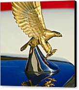 1986 Zimmer Golden Spirit Hood Ornament Canvas Print by Jill Reger