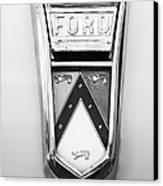 1963 Ford Falcon Futura Convertible  Emblem Canvas Print by Jill Reger
