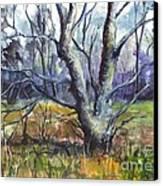 A Tree For Thee Canvas Print by Carol Wisniewski