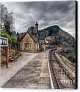 Berwyn Railway Station Canvas Print by Adrian Evans