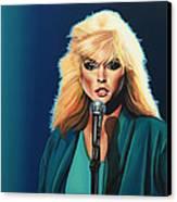 Deborah Harry Or Blondie Canvas Print by Paul Meijering