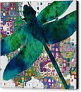 Dragonfly Canvas Print by Jack Zulli