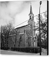 former st josephs catholic church in Forget Saskatchewan Canada Canvas Print by Joe Fox