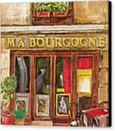 French Storefront 1 Canvas Print by Debbie DeWitt