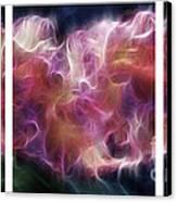 Gladiola Nebula Triptych Canvas Print by Peter Piatt