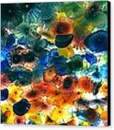 Glass Flowers Canvas Print by Ernesto Cinquepalmi
