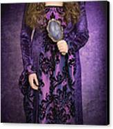 Gothic Woman Canvas Print by Amanda And Christopher Elwell