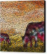 Grazing  Canvas Print by Jack Zulli