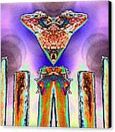 2 Headed Lizard  Canvas Print by Belinda Lee