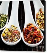 Herbal Teas Canvas Print by Elena Elisseeva