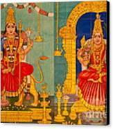 Hindu God Canvas Print by Niphon Chanthana