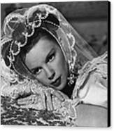 Judy Garland Canvas Print by Retro Images Archive